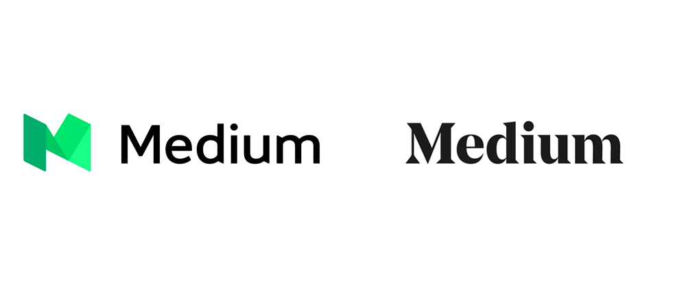 New Logo for Medium by Manual in Collaboration with In