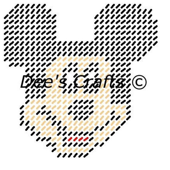 MICKEY MOUSE - Head Shot - Disney Collection - Coa