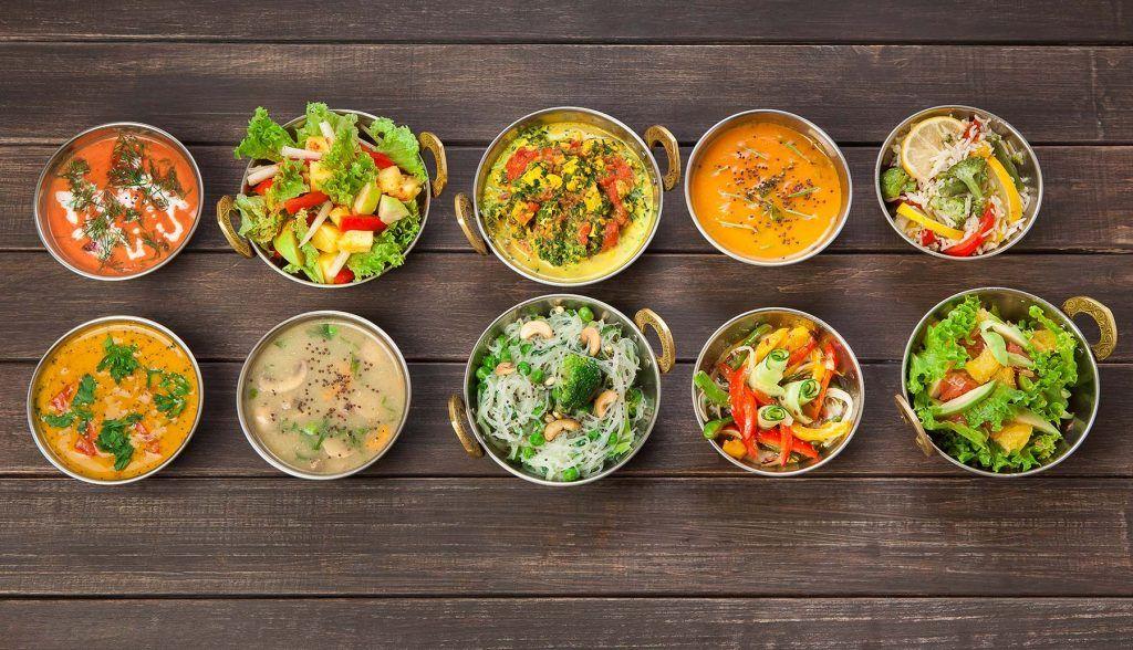Indische vegetarische Ernährung für stillende Mutter