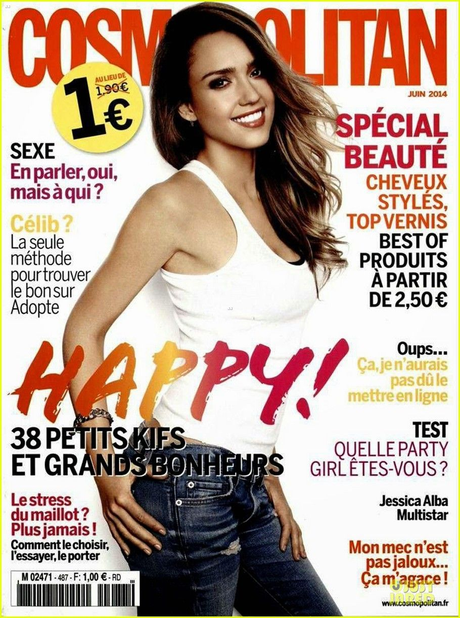 Cosmopolitan France June 2014 Jessica alba, Cosmopolitan