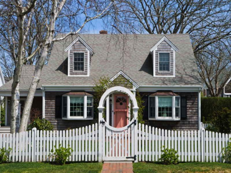 Cape Cod House Designs with Gate | Exterior Inspiration | Pinterest ...