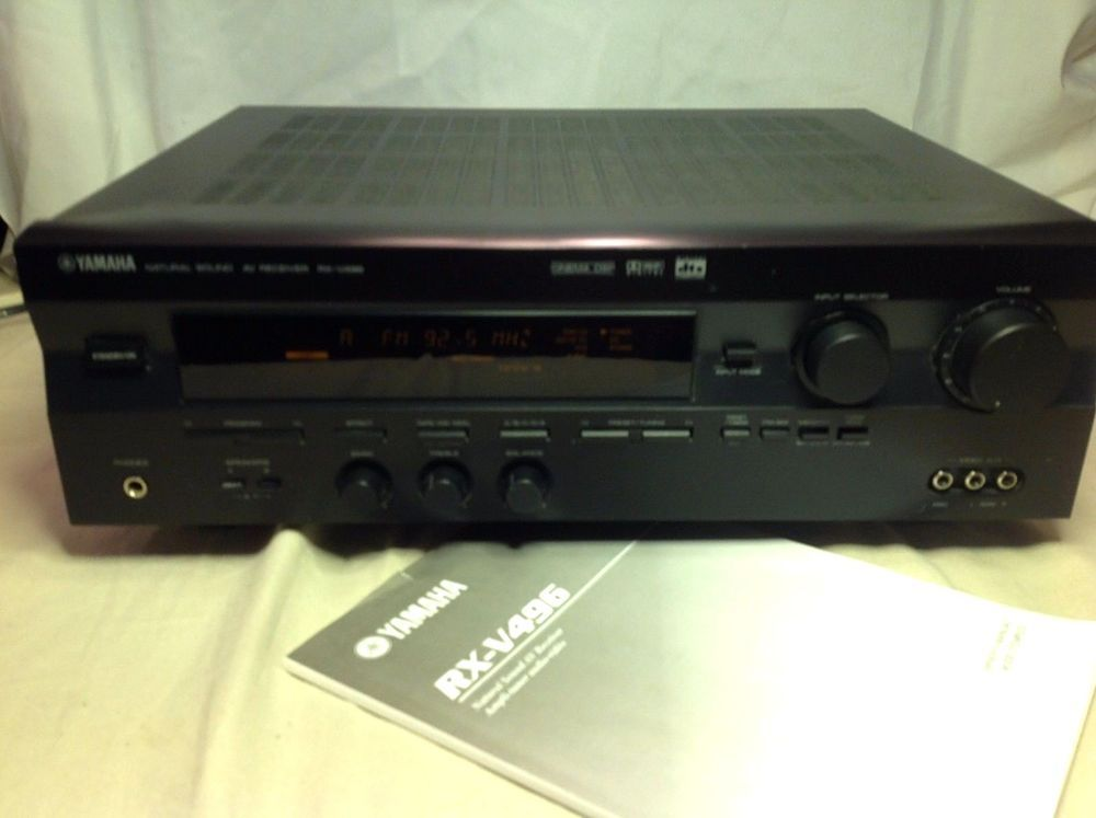 Groovy Yamaha Rx V496 Home Theater Phono 5 1 Channel Receiver Download Free Architecture Designs Grimeyleaguecom