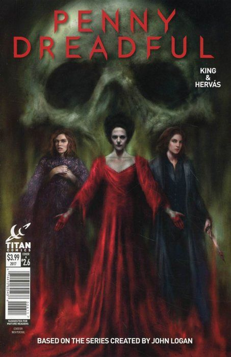 Penny Dreadful Issue 6 Percival