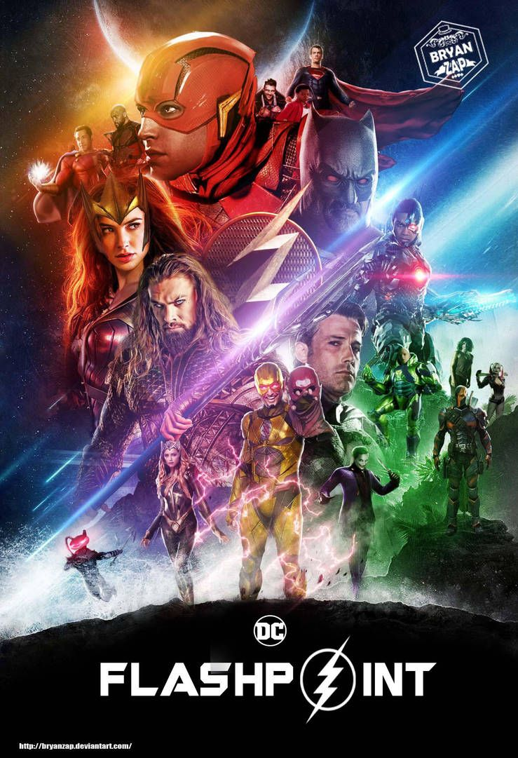 Flashpoint Art Based On The Infinity War Poster By Bryanzap Marvel Superhero Posters Dc Comics Superheroes Flash Comics