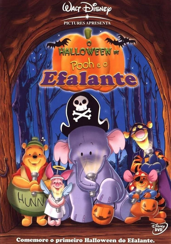 O Halloween De Pooh E O Efalante 2005 Filmes Do Dia Das Bruxas Disney Halloween Filmes Da Disney