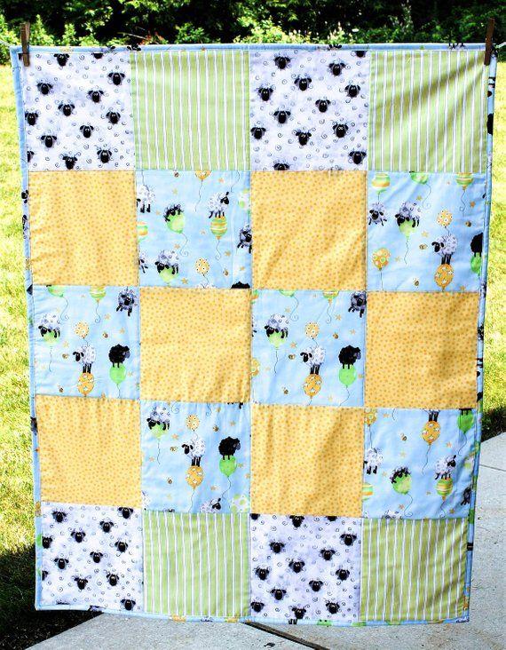 1614134a683b47 Baby Boy Lamb Blanket