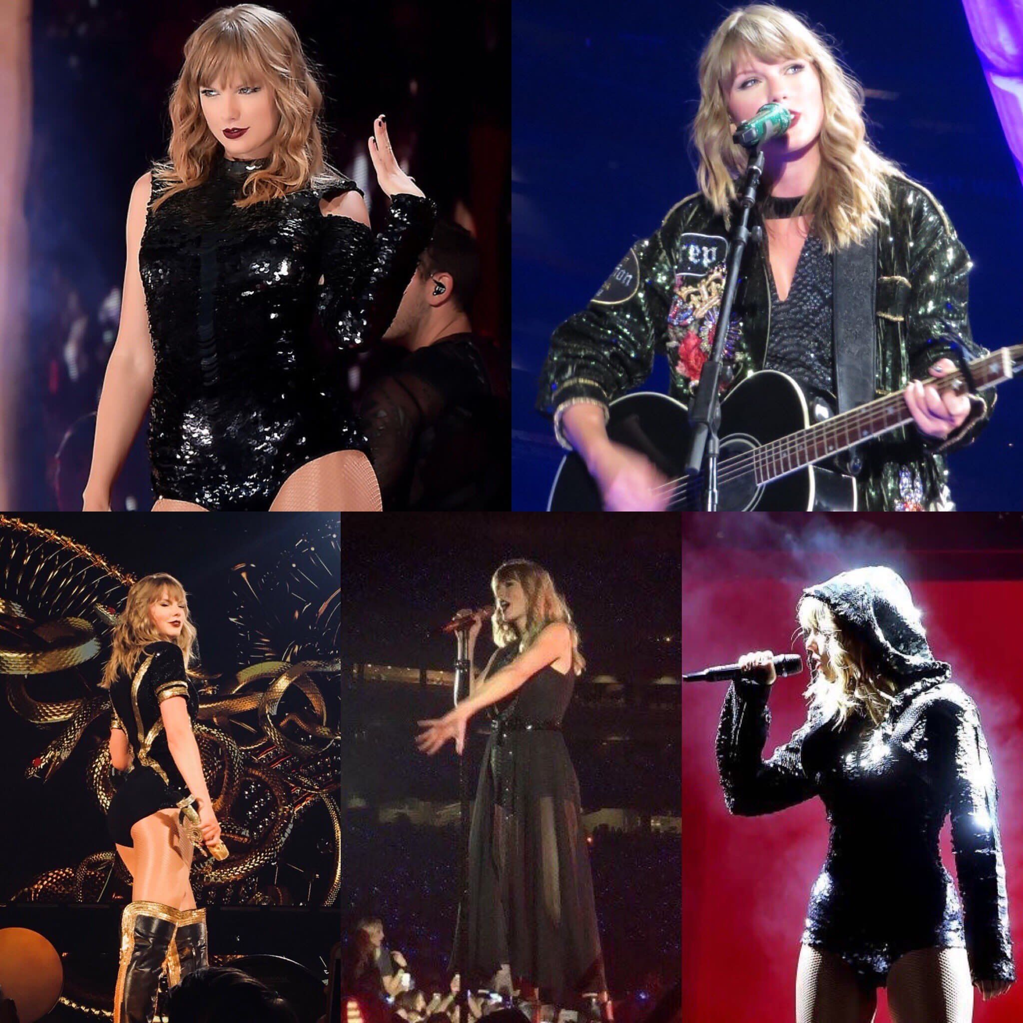 Some of Taylor's outfits on tour! #repTourGlendale