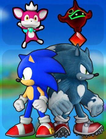 Sonic Runners Modern Sonic Werehog Sonic Runners Sonic Sonic Unleashed