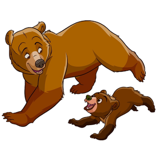 mother and baby bear cute bear images animals clipart rh pinterest co uk