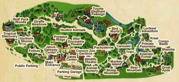 Denver Zoo Map Denver Zoo Map | Road Trip | Denver zoo, Zoo map, Denver