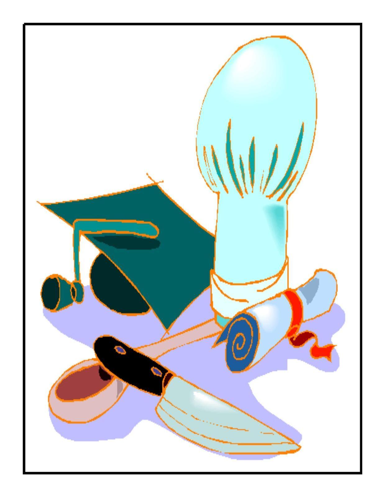 graduate culinary art digital download clipart artclip digital culinaryarts graduation [ 1236 x 1600 Pixel ]