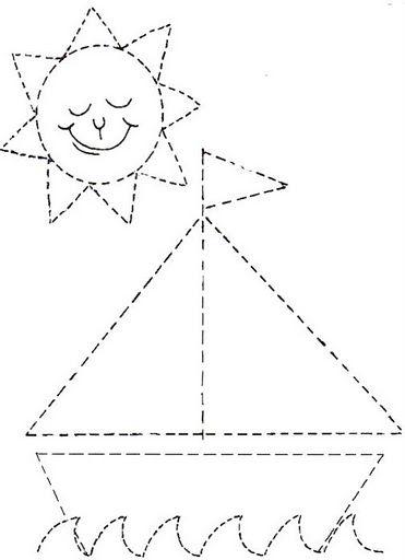 Dibujos Infantiles Para Puntear Trazar Y Dibujar Actividades Para Ninos Preescolar Grafomotricidad Fichas De Preescolar