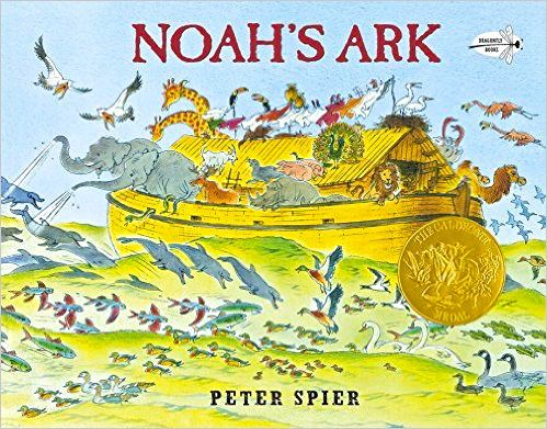 Noah's Ark  --- beautiful detailed picture book by the Dutch author, Caldecott winner