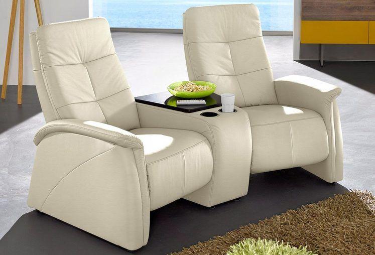 2 Sitzer City Sofa Mit Relaxfunktion Integrierter Tischablage Und
