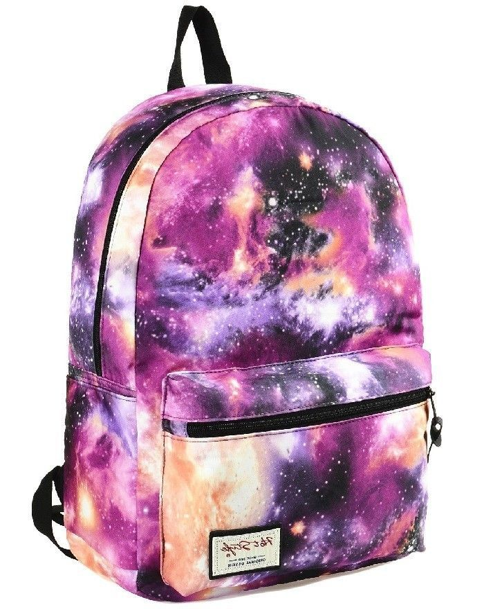 dca41168b5 Cool Backpack Retro Style Galaxy School Bag Stylish Unique Girls for Teen  or Kid…