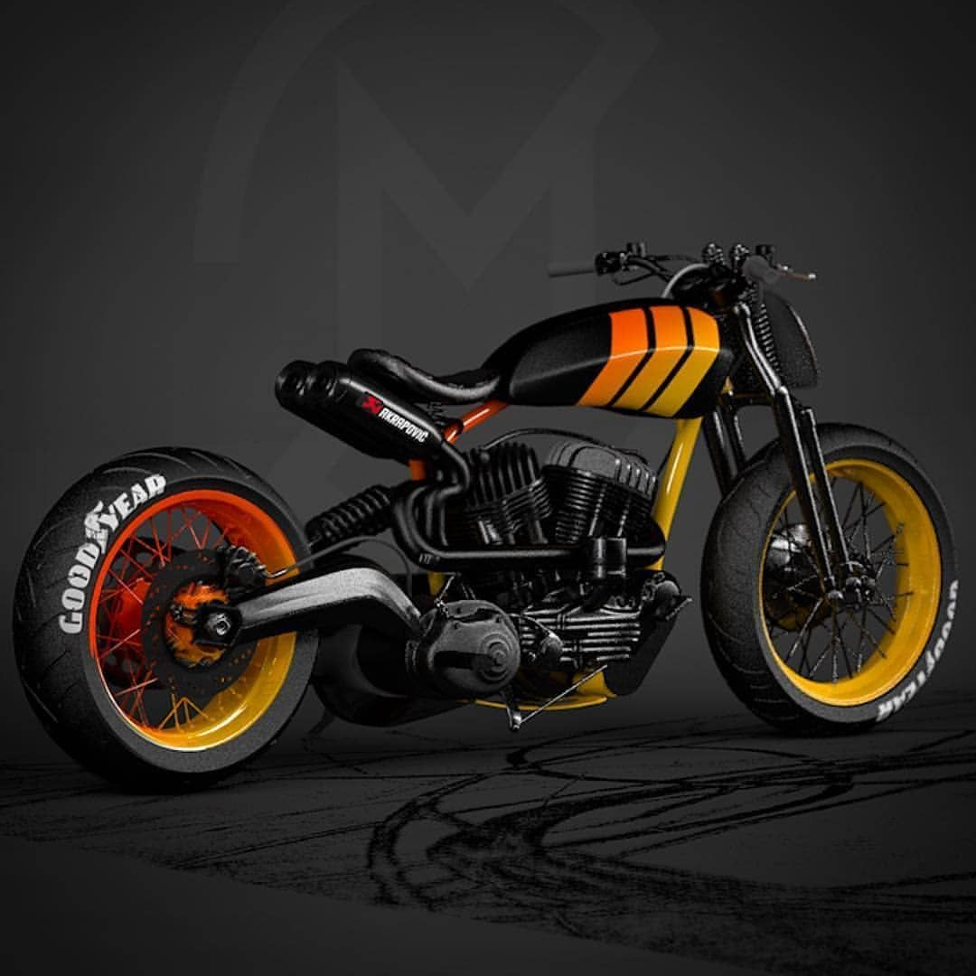 Arcman Custom Motorcycle On Instagram Waspy Repost Ziggymoto