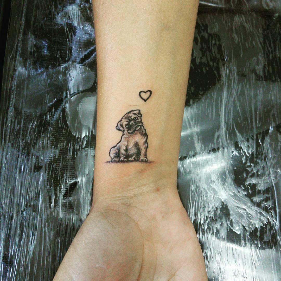 Pug Tattoo49 Pug Tattoo Tattoos Dog Tattoos