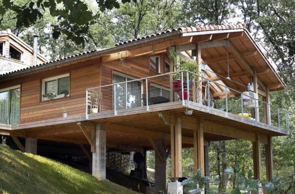 Casas Modernas En Terrenos Inclinados