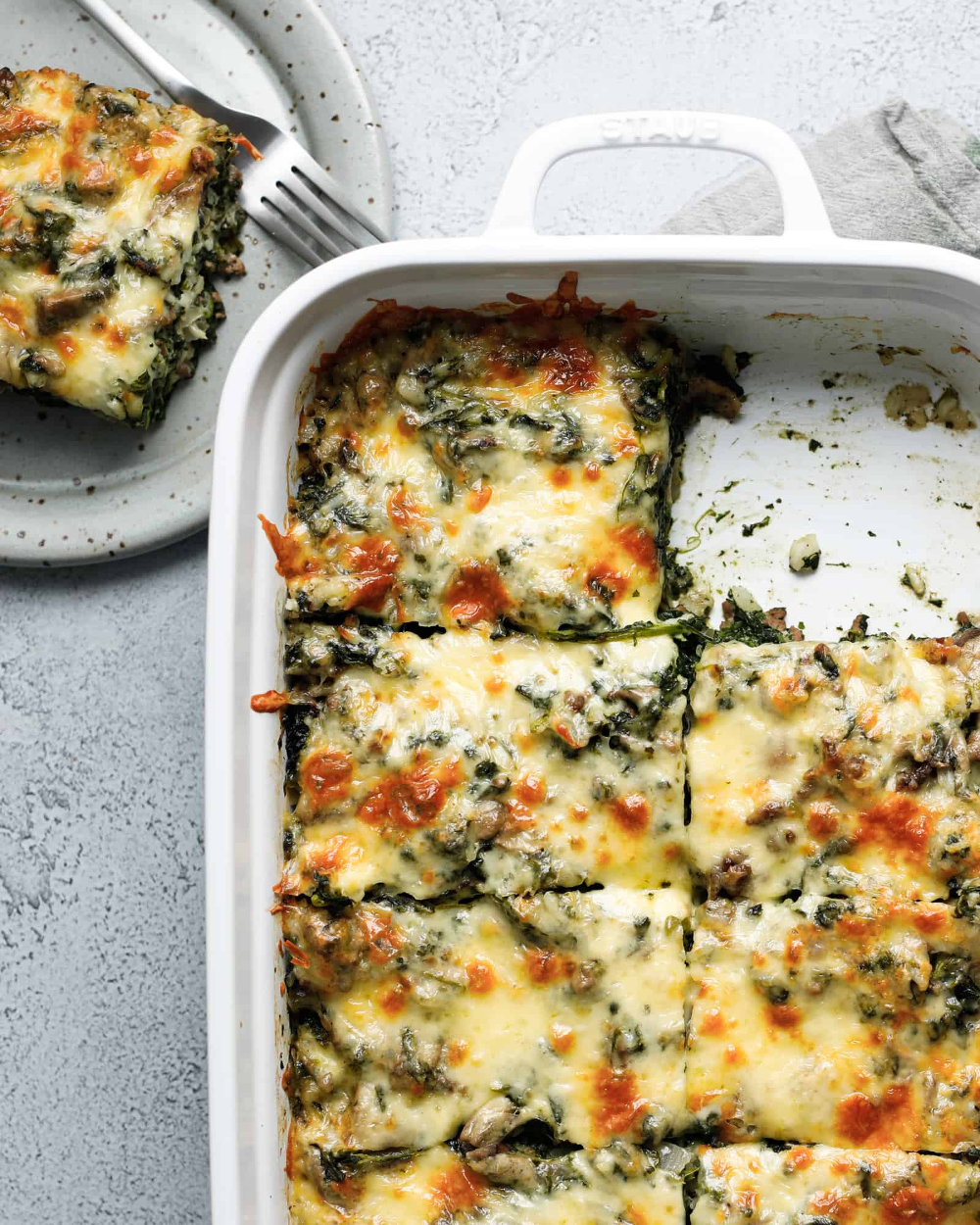 Spinach Fandango Casserole The Dinner Bell Recipe In 2020 Beef Casserole Recipes Healthy Beef Recipes Ground Beef Recipes Healthy