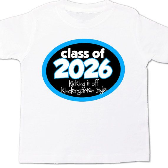 Back to school shirt class of any year personalized boy