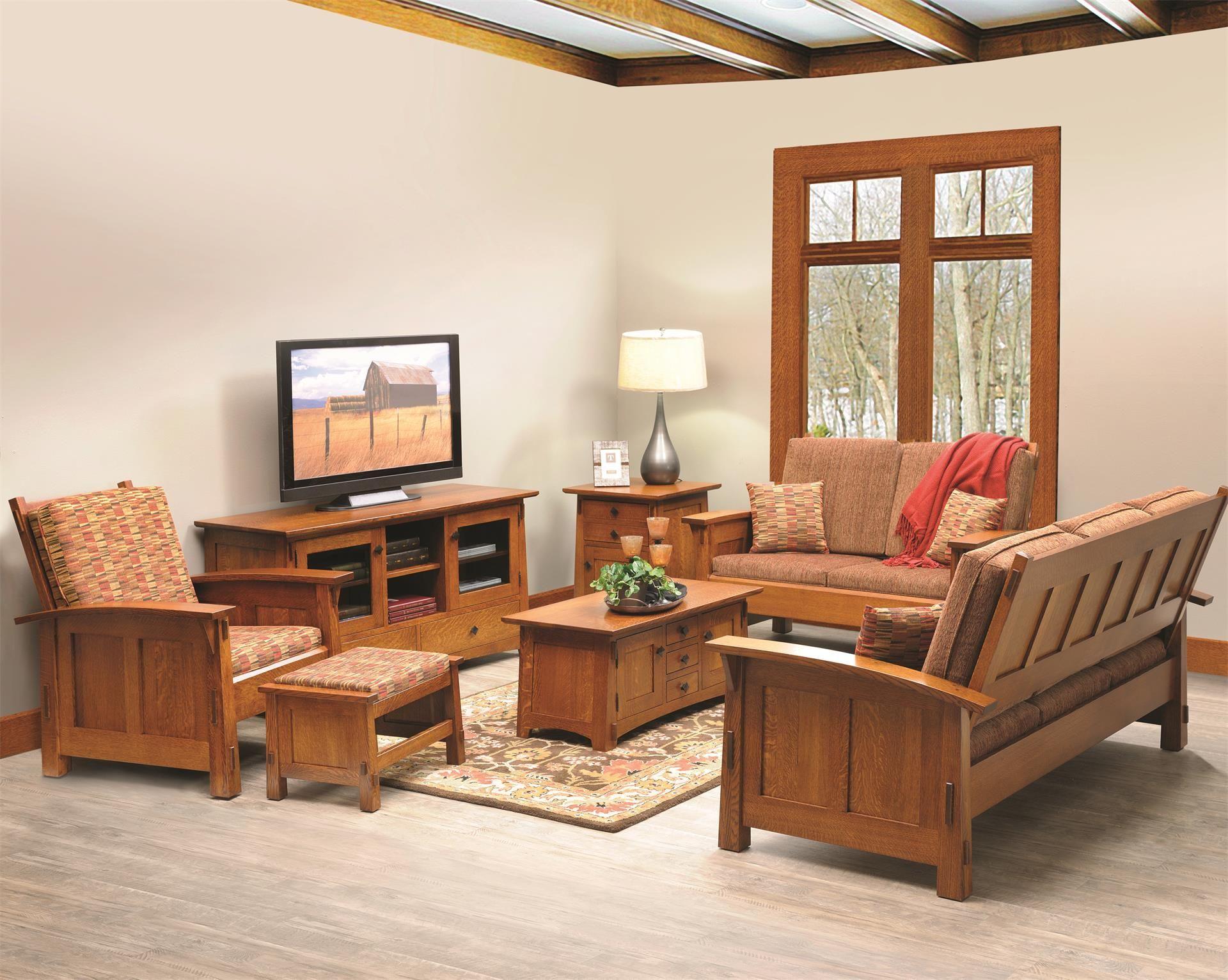 Live A Little Or A Lot In Our Goshen Shaker Living Room Set