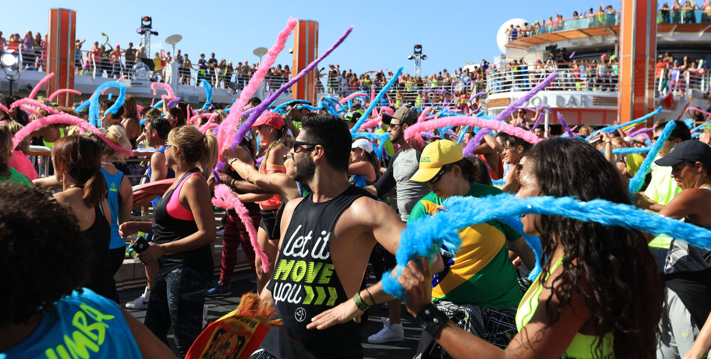 For five unforgettable days, you'll have the time of your life and celebrate every moment on the funnest (and fittest) cruise ever. Dance, party, learn, relax and unwind as you make the memories of a lifetime.