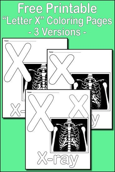 Letter X Alphabet Coloring Pages 3 Printable Versions Alphabet Coloring Pages Alphabet Coloring Coloring Pages