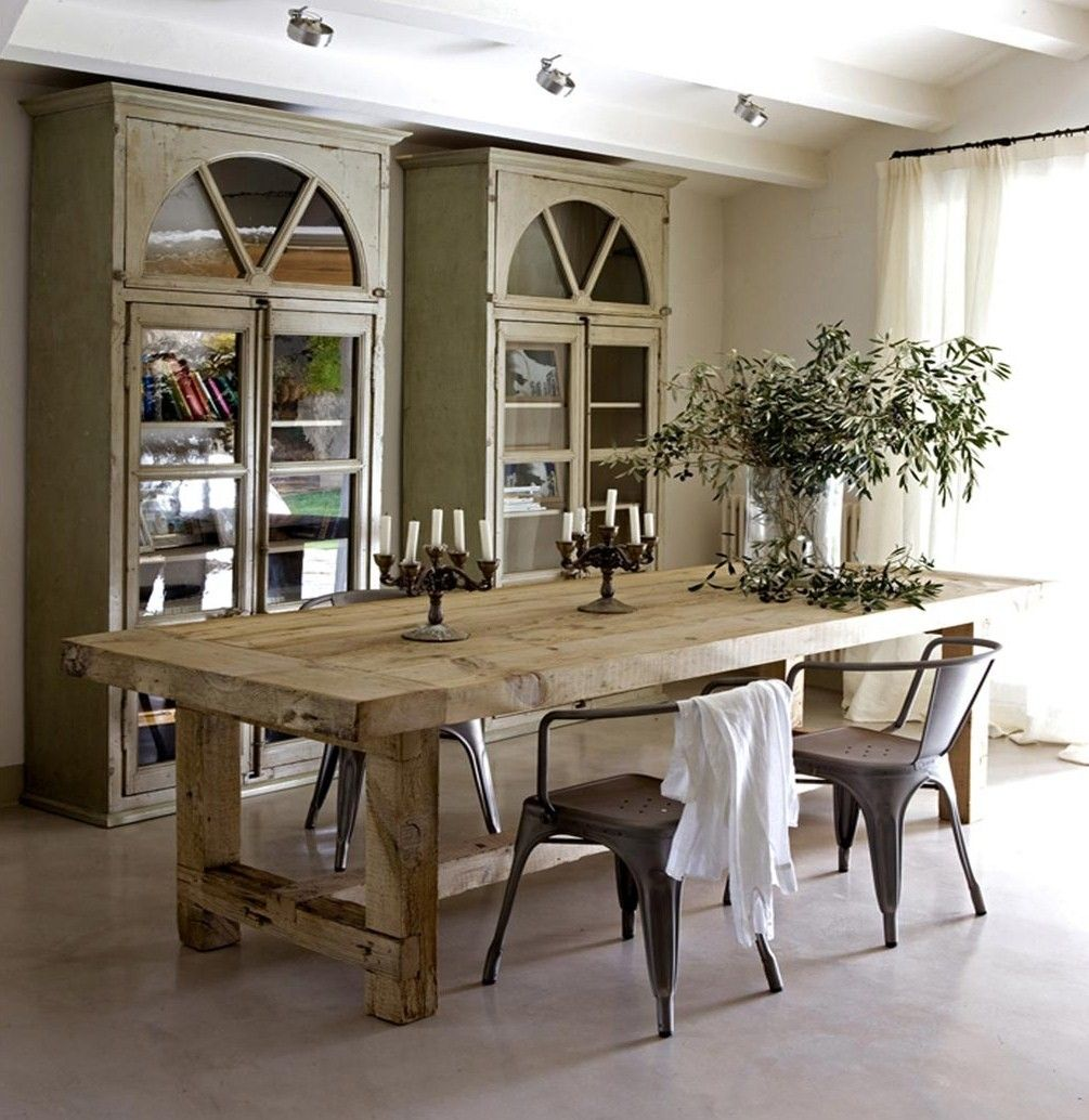 I Need This Table For My Next Home So I Can Have Dinner Parties Awesome Reclaimed Wood Dining Room Set Inspiration