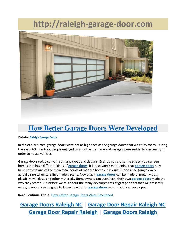 Garage Door Repair Raleigh Nc Door1080 On Pinterest