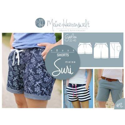 # 42 eBook - meine SURI - Shorts - Größe 32-46 -- Meine Herzenswelt #outfitswithshorts