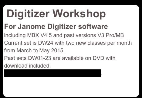 janome digitizer pro v4