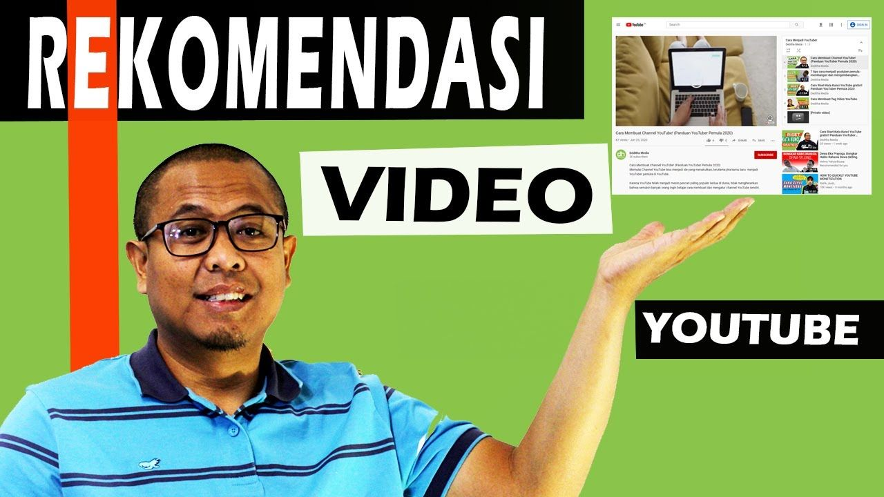 Pin Oleh Deditha Media Di Cara Membuat Channel Youtube Di 2020 Youtube Video