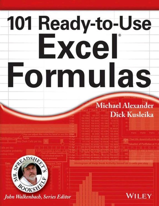 101 Ready-to-Use Excel® Formulas Published by John Wiley  Sons