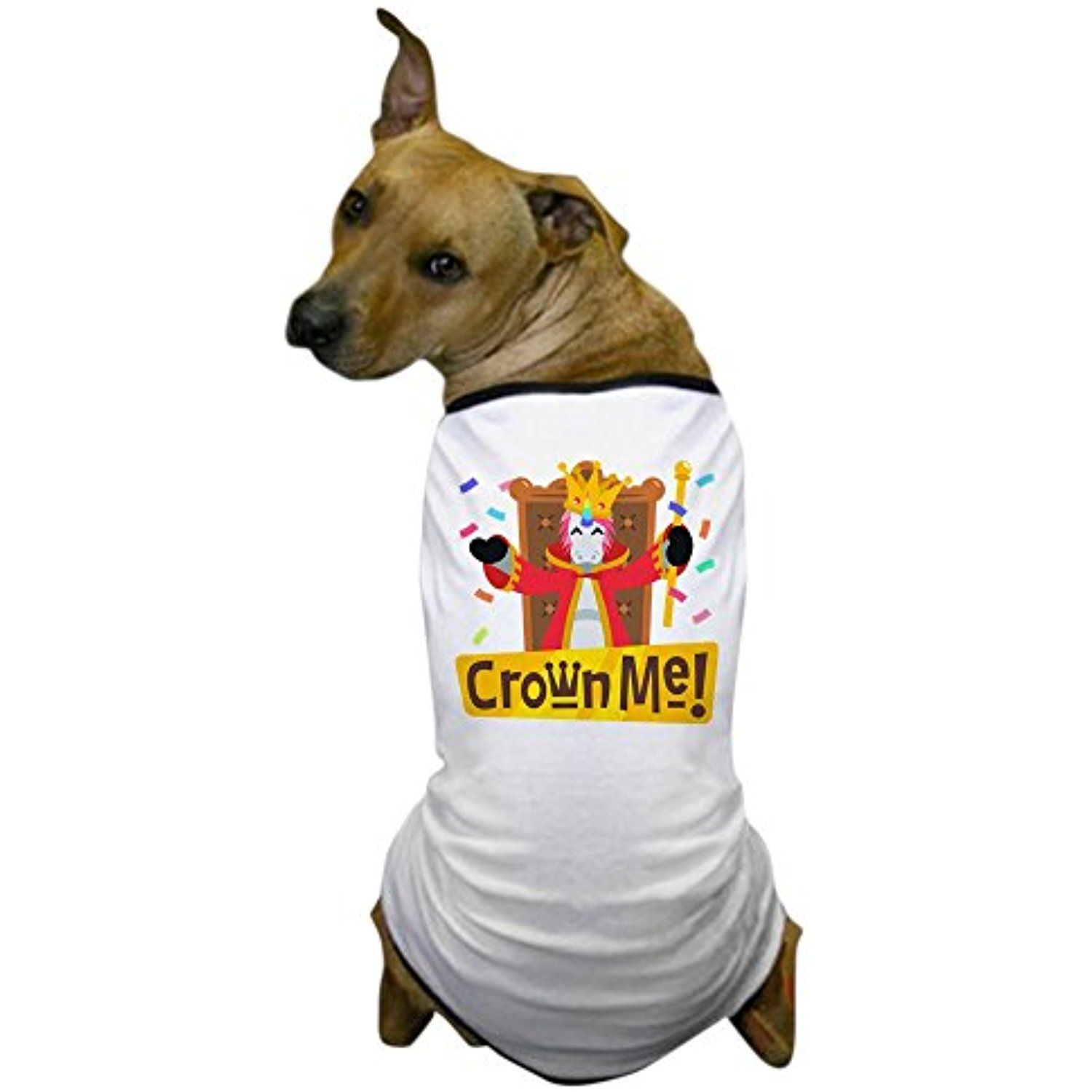 08ce9952 CafePress - Emoji Unicorn Crown Me - Dog T-Shirt, Pet Clothing, Funny Dog  Costume -- Visit the image link more details. (This is an affiliate link) #  ...