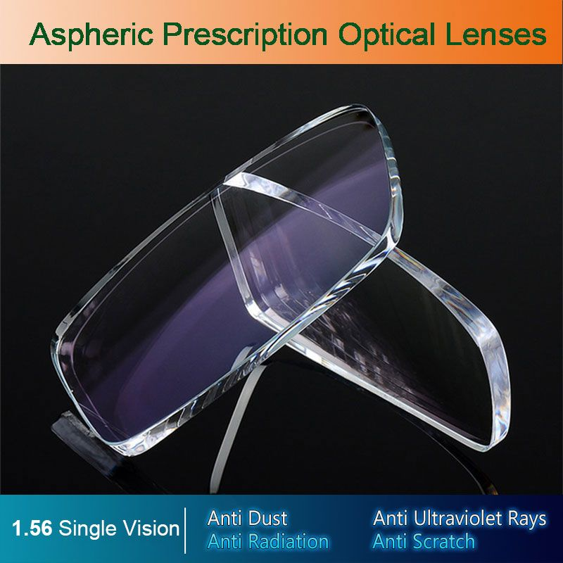 304f9ed741b 1.56 Index Prescription Lenses CR-39 Resin Aspheric Glasses Lenses for  Myopia Hyperopia Presbyopia Eyeglasses Lens With Coating