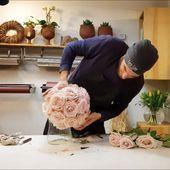 Rosenkugel selber machen  Rosenkugel selber machen. DIY Anleitung. Hochzeitsdeko…
