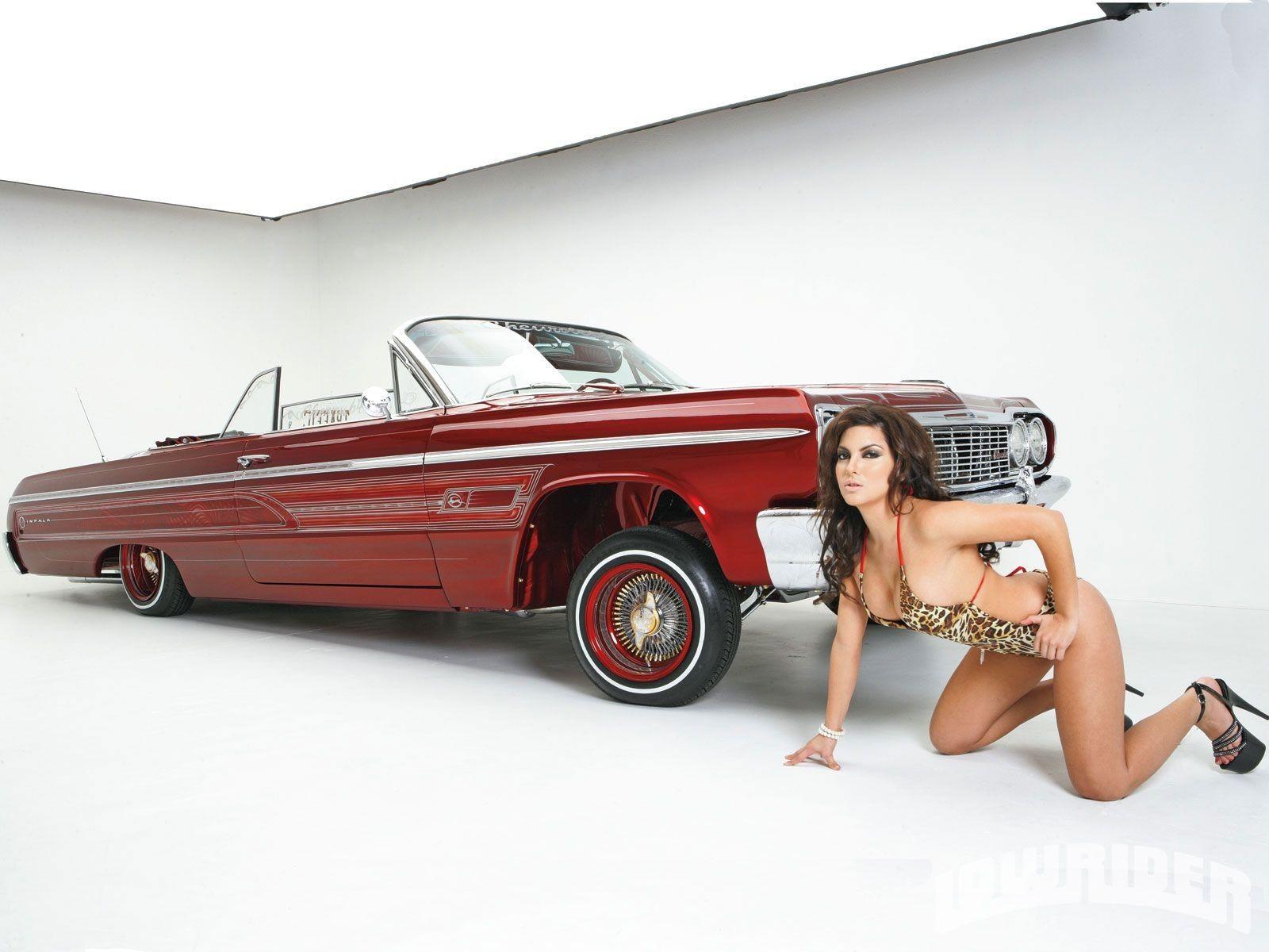 Lowrider models naked