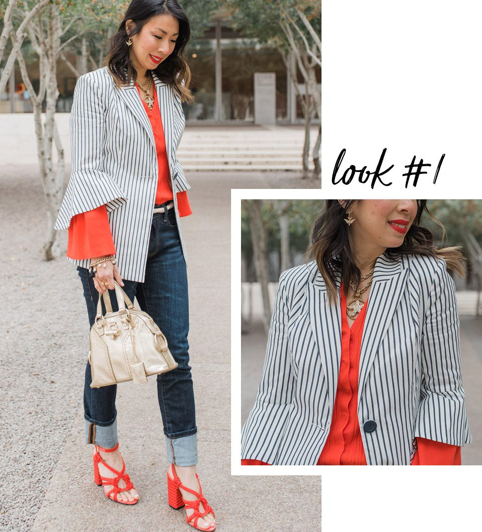 cabi Clothing | Spring 2018 | Transitional outfit ideas. From