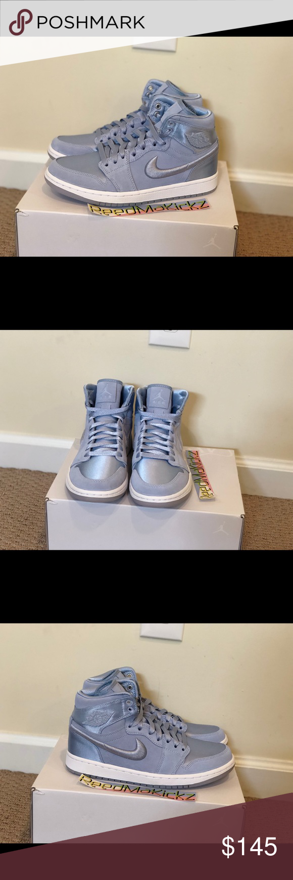 promo code 4a85f 59e36 Nike air jordan 1 retro SOH Hydrogen blue womens 100% authentic!! No trade  Brand new   never worn womens sizes style codeAO1847 445 Nike Shoes Sneakers