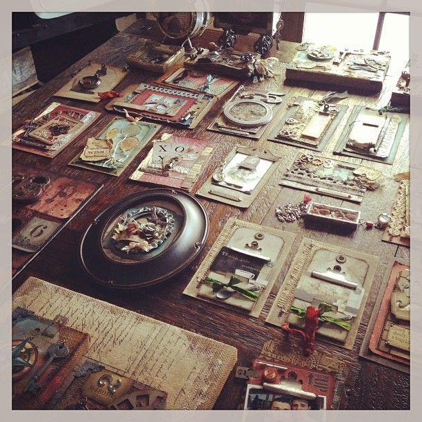 Photo by tim_holtz CHA samples winter 2013