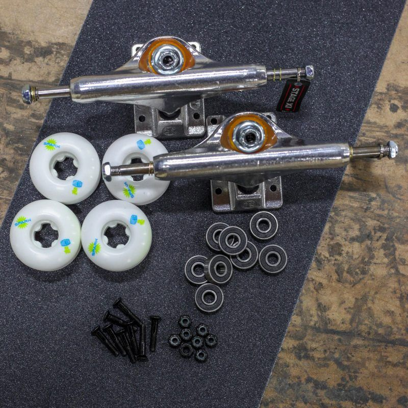Full Skateboard Set Up Accessories Package Braille Skateboarding Skateboard Accessories Skateboard Mobile Shop