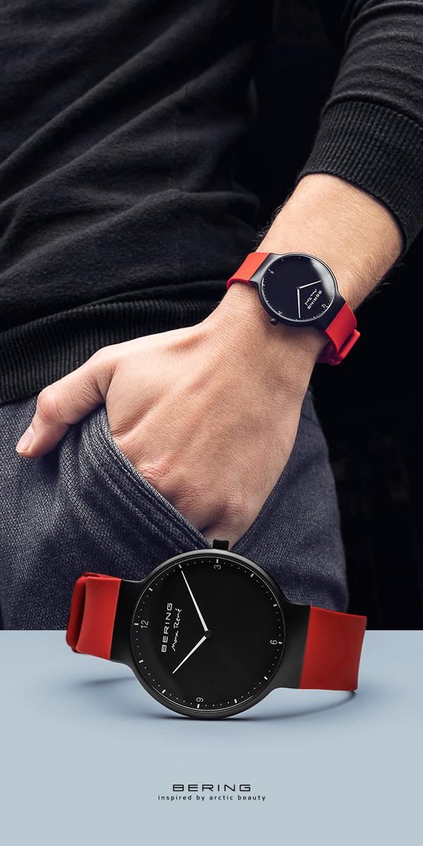 Max René | mat black | 15540 523 | Watches for men, Mens