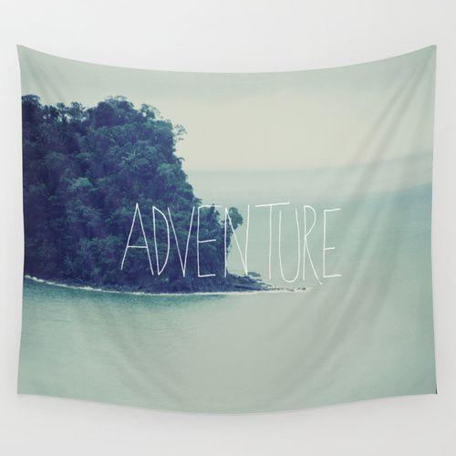 Adventure Island Wall Tapestry