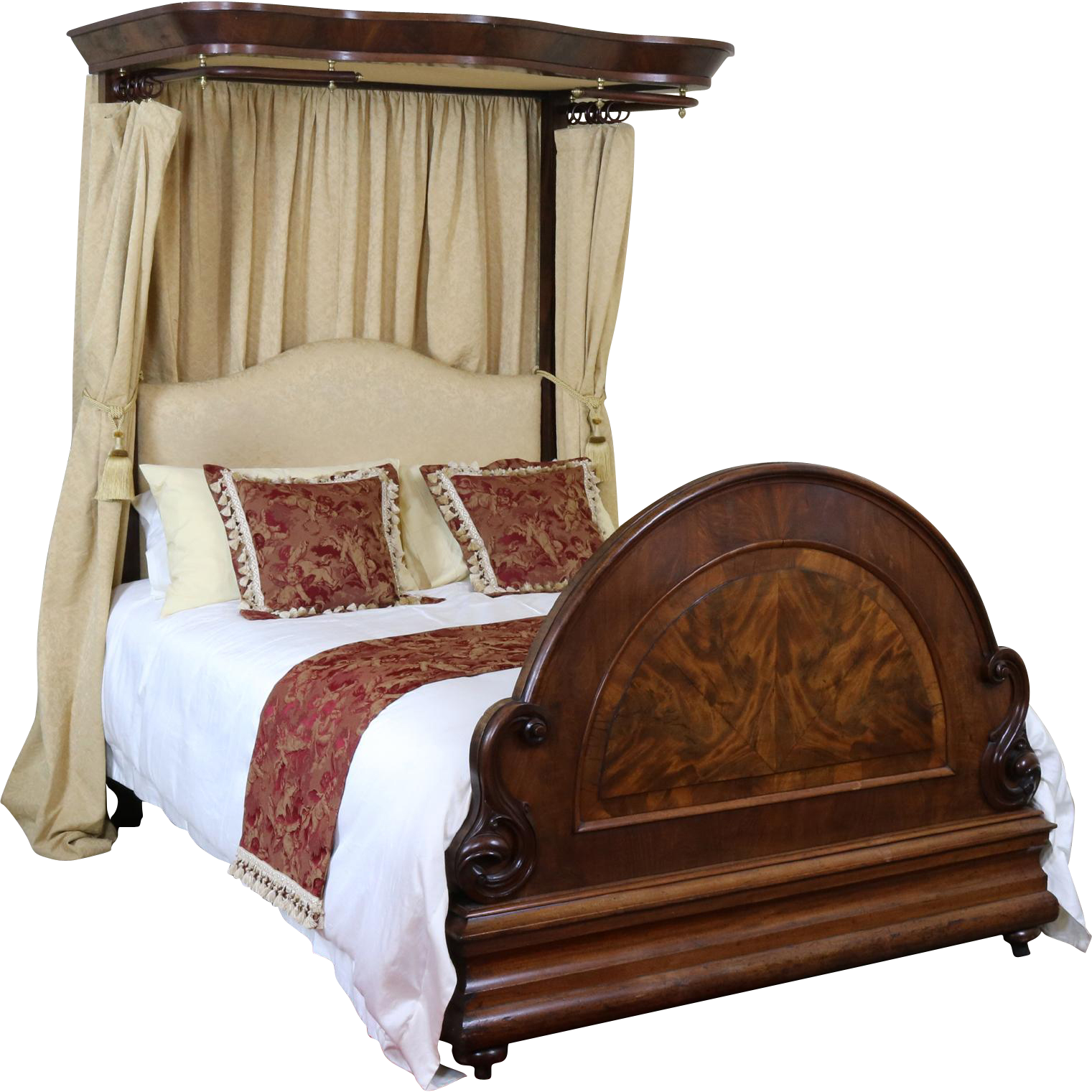 Mahogany Half Tester Bedstead | Victorian And Gothic Design ...