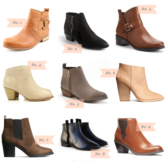 Must Have: Ankle Boots Under $50 | Fashion Wishlist | Pinterest ...