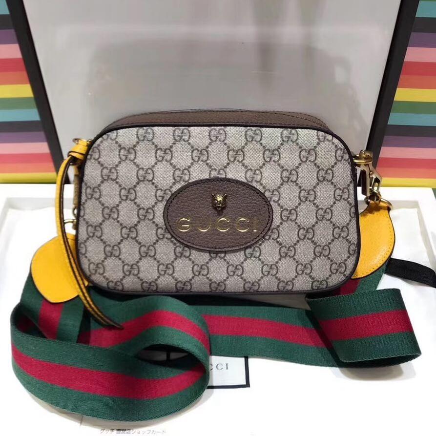 1aada4a9935 Gucci GG Supreme Messenger Bag 476466 2018