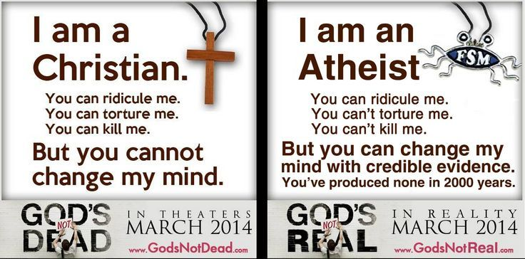 Agnostic christian dating an atheist