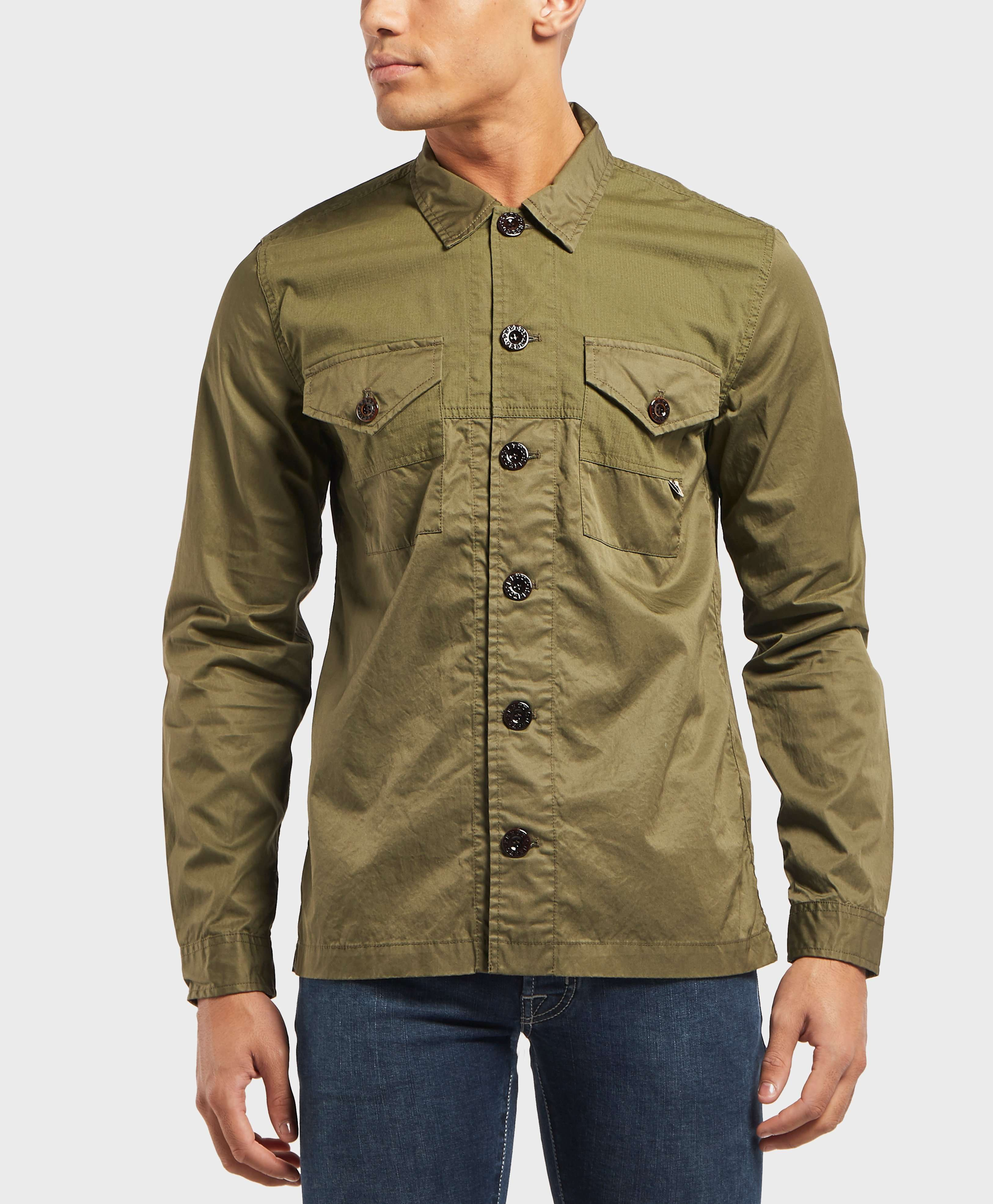 0dc0312468d Pretty Green Robinia Overshirt - scotts supply the best clothing