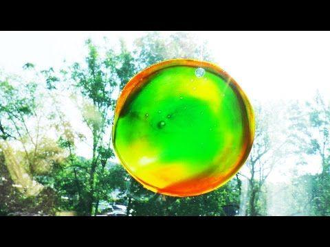 Sonnenfänger aus Klebstoff basteln | tolles Farbenspiel als Fensterbild | Basteln für den Sommer - YouTube