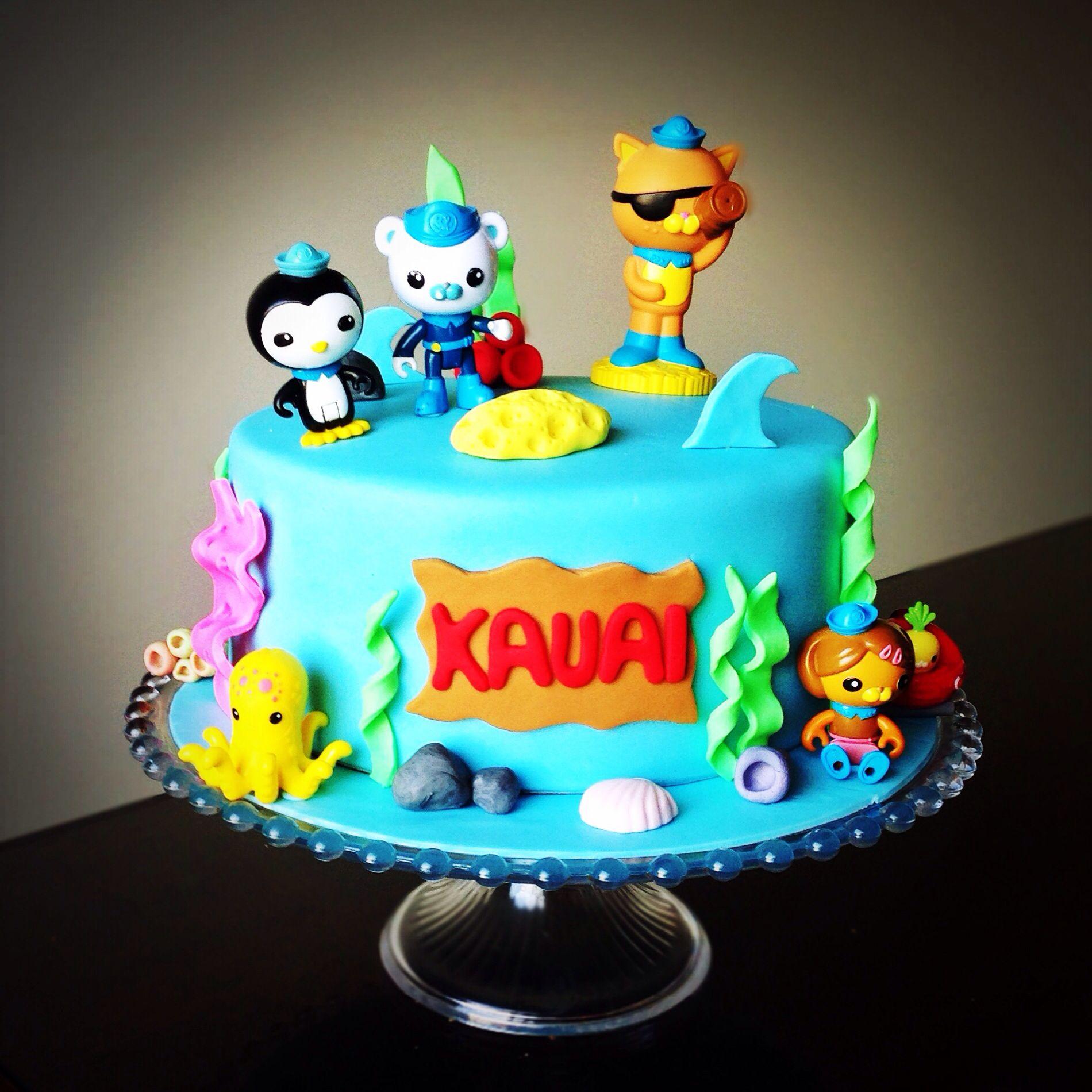 Octonauts cake | Octonauts cake, Cake, Octonauts party